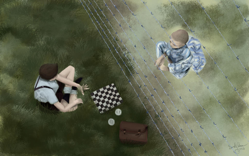 the boy in the striped pajamas book ending