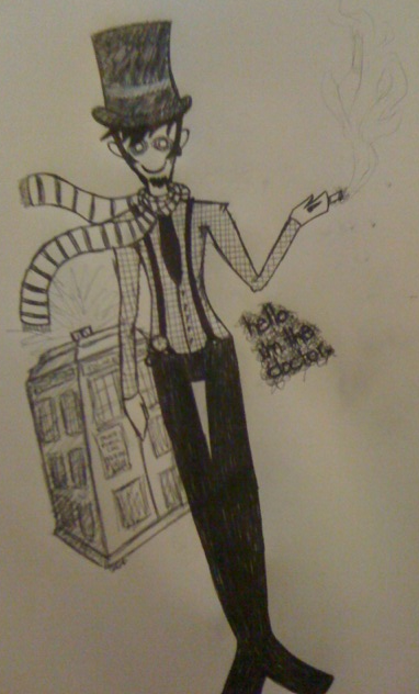 hello. i'm the doctor. by ShadowtheRipper
