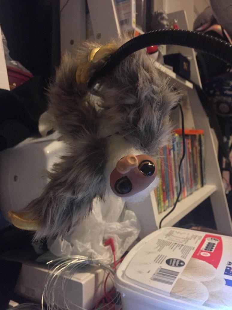 WIP hanging sloth  by Bubblegum992