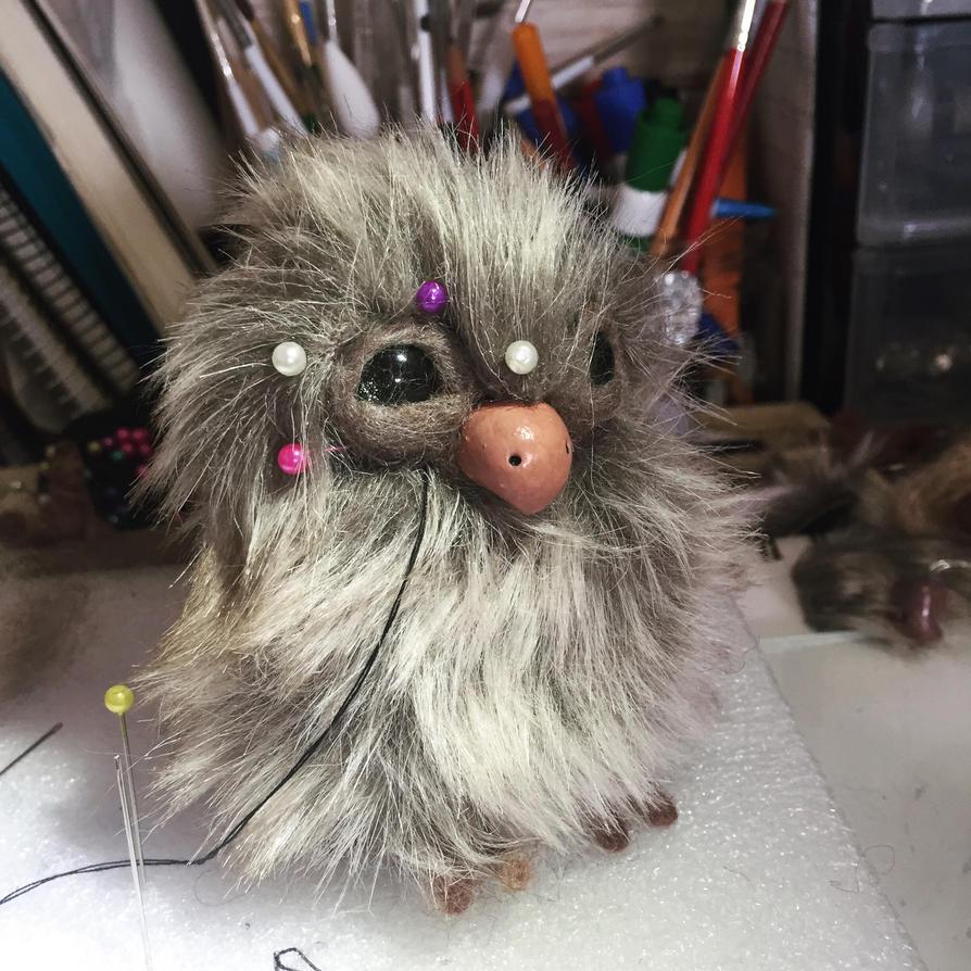 Mini owl WIP  by Bubblegum992