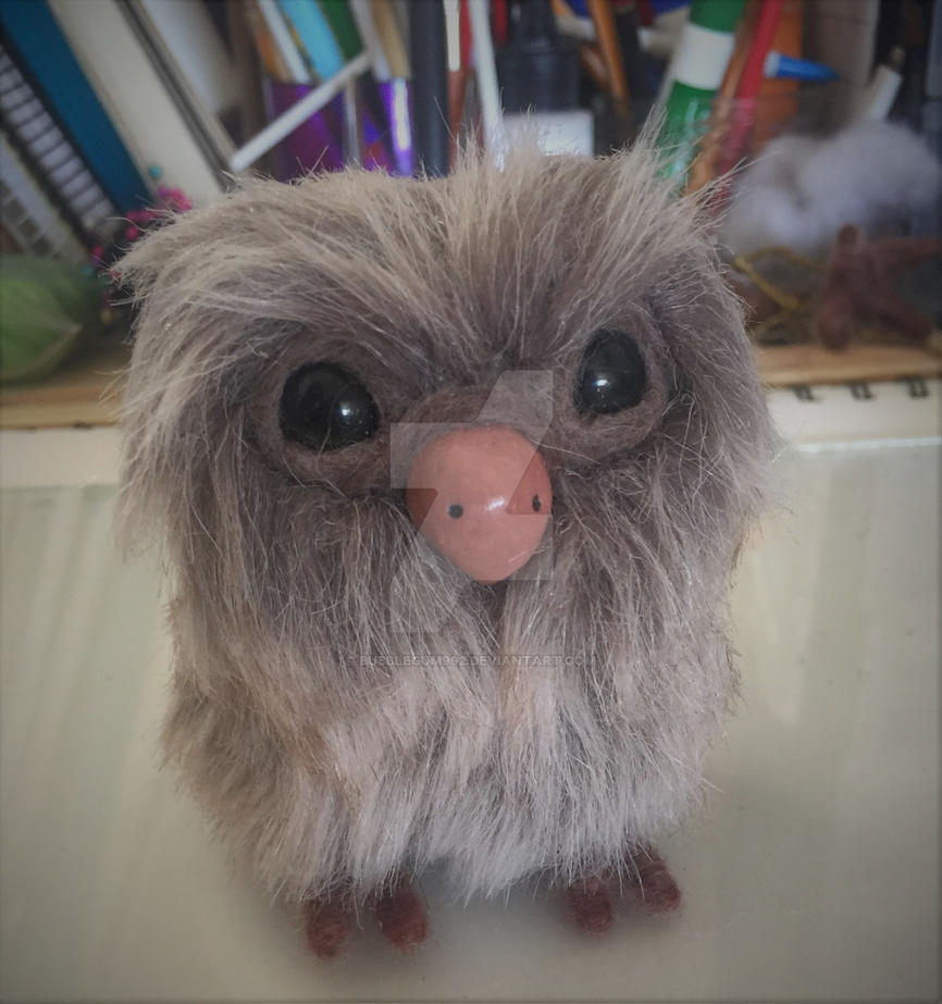 Mini Little Brown Owl by Bubblegum992