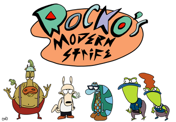 Rocko's Modern Strife by GodWeenSatan