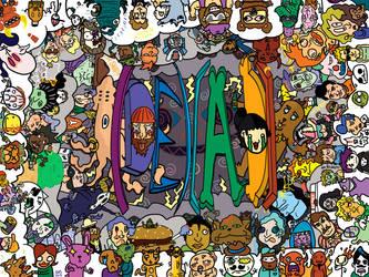 (DE)(AD)'s 100th Comic Posterstravaganza! by GodWeenSatan