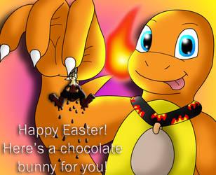 Happy Chocolate Bunny Day! by LittleCharmander
