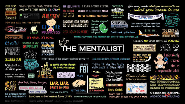 The Mentalist Minimalist Poster Of Quotes By JiSSaTMf