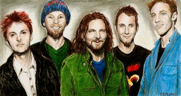 Pearl Jam in 2006 by insignificantartist