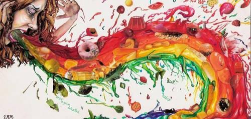 Bulimic rainbow