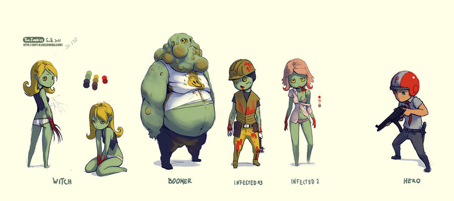 zombie concept by soft-h