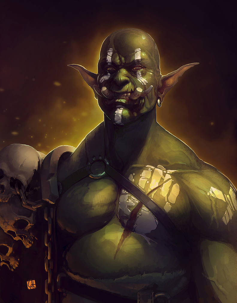 Orc by soft-h