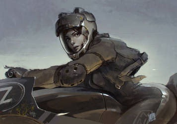 pale rider by soft-h