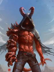 Hellboy by soft-h