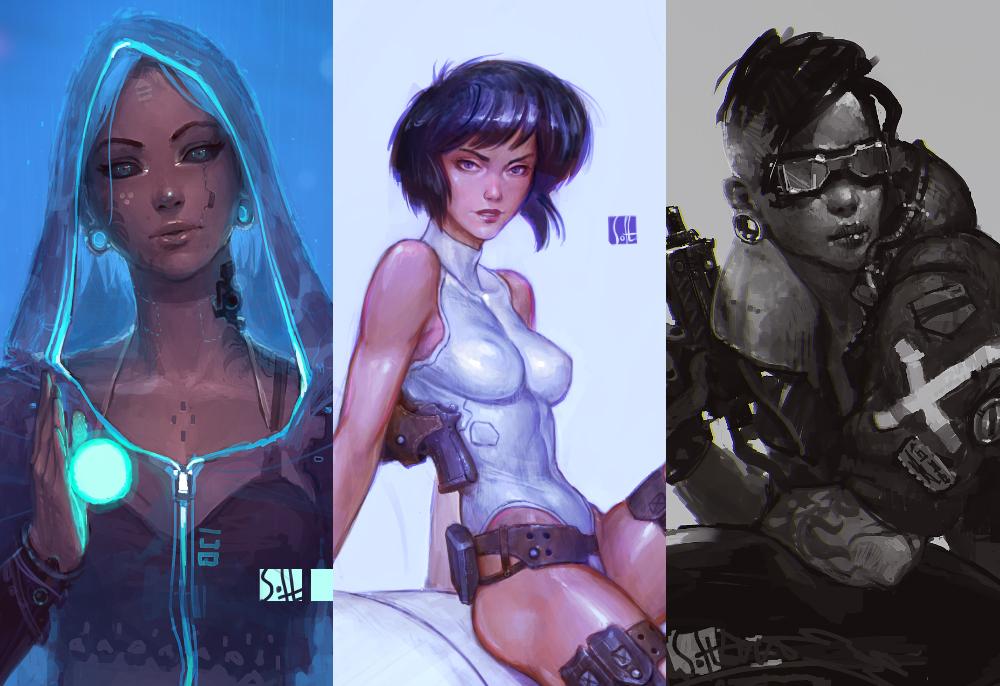 cyberpunk by soft-h