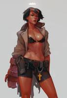 Hellgirl by soft-h