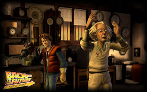 Back to the Future the Game A. by PrincessCakeNikki