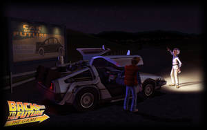 Back to the Future the Game B. by PrincessCakeNikki