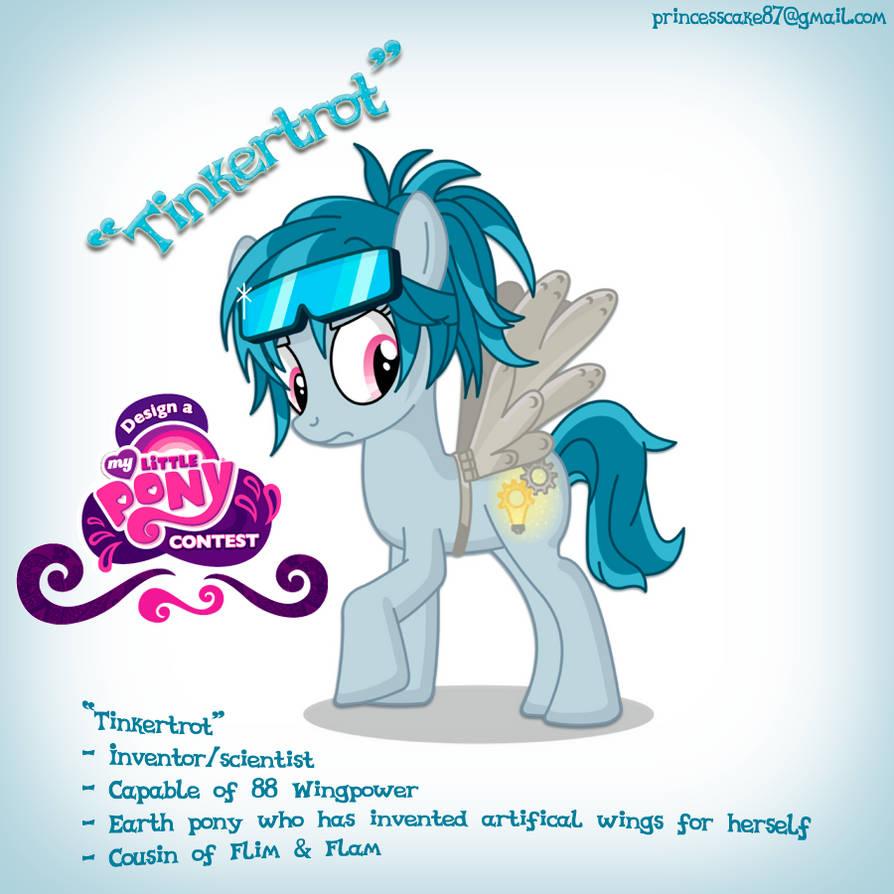 My Little Pony ''Design a Pony'' Entry by PrincessCakeNikki