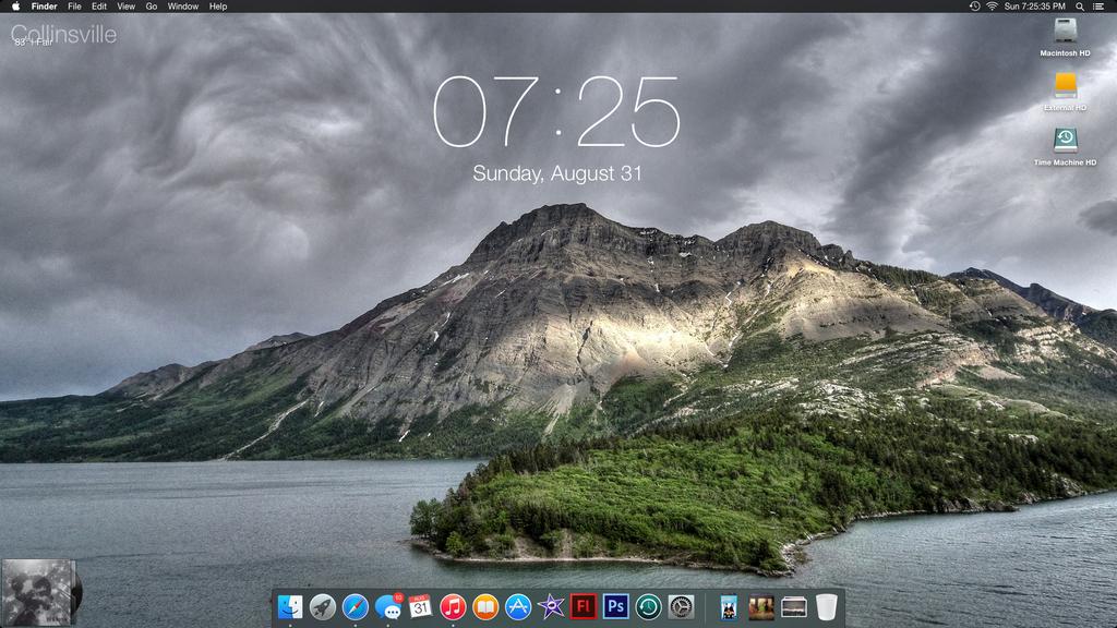 August Desktop - Yosemite Beta Release 2 by PrincessCakeNikki