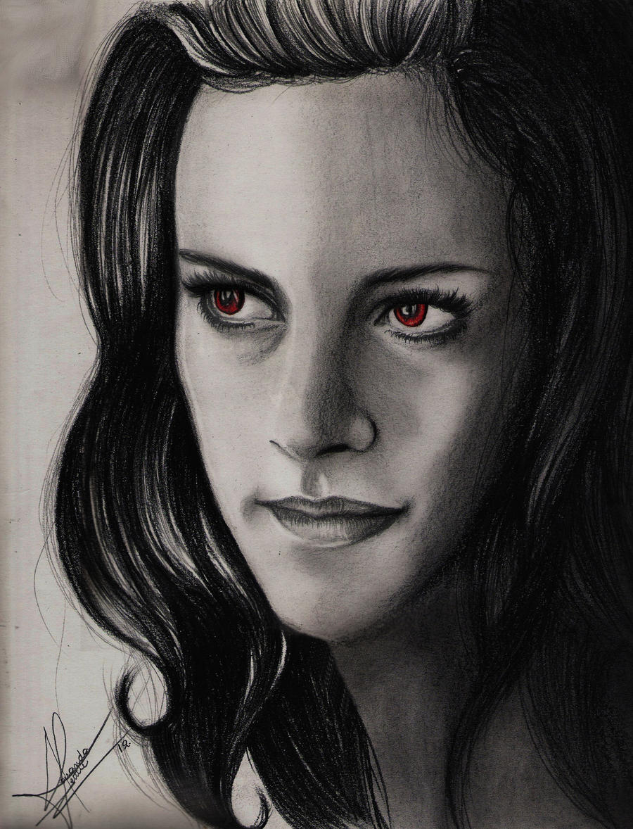 BELLA SWAN VAMPIRE by brunoarandap on DeviantArt