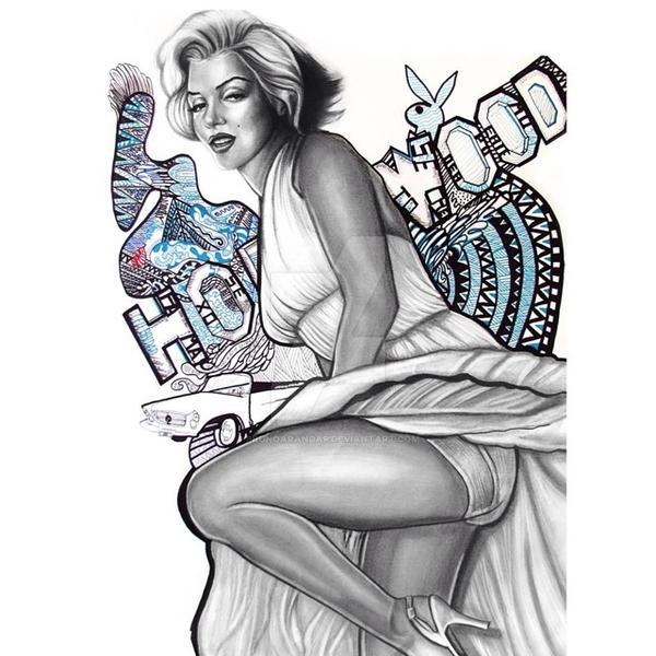 Marilyn by brunoarandap