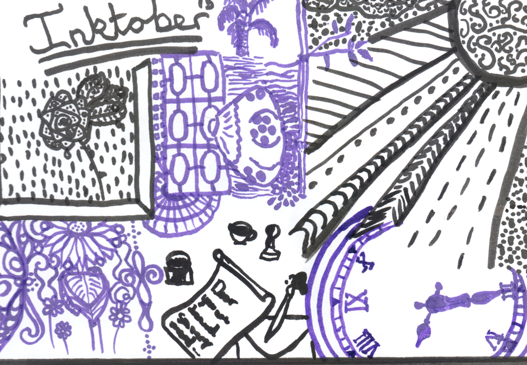 Inktober2015 by MermaidMichelle