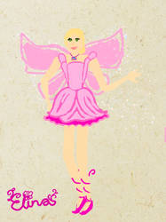 Barbie Fairytopia Elina by MermaidMichelle