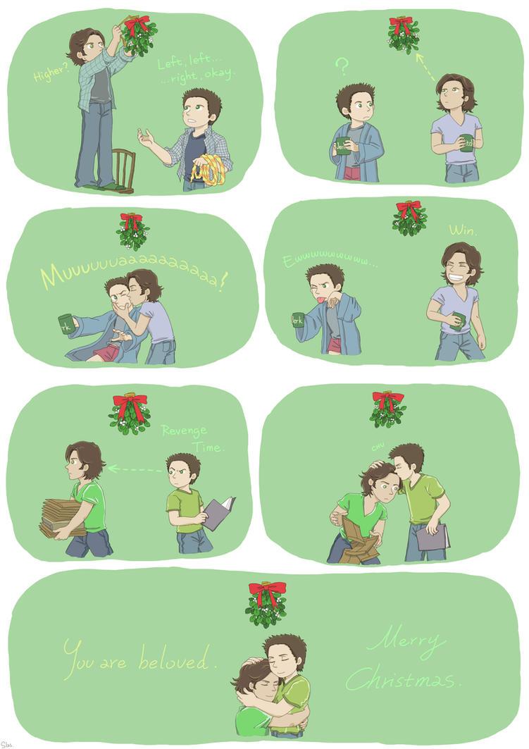 Mistletoe by SilasSamle