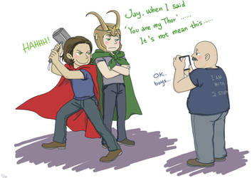 J2: You are my Thor