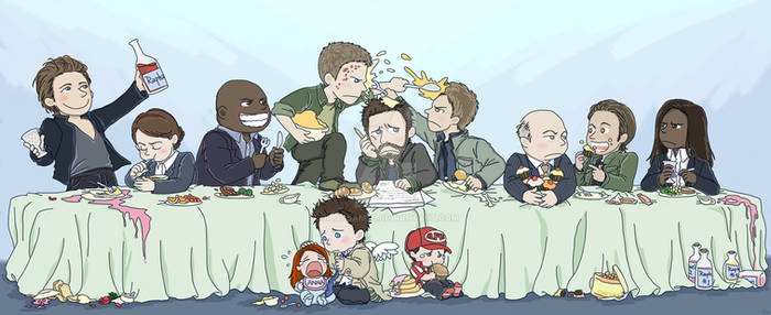 Commission with Angels' Family Dinner