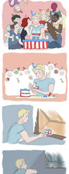 Captain's 97 Birthday by SilasSamle