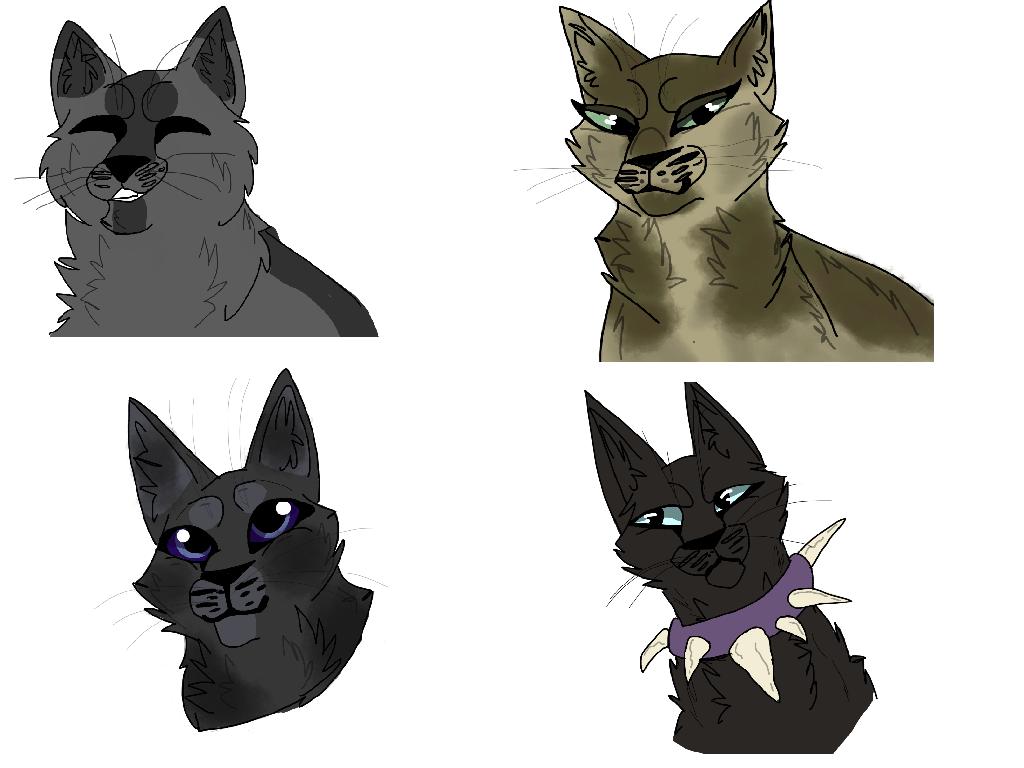 Warrior Cats Dab