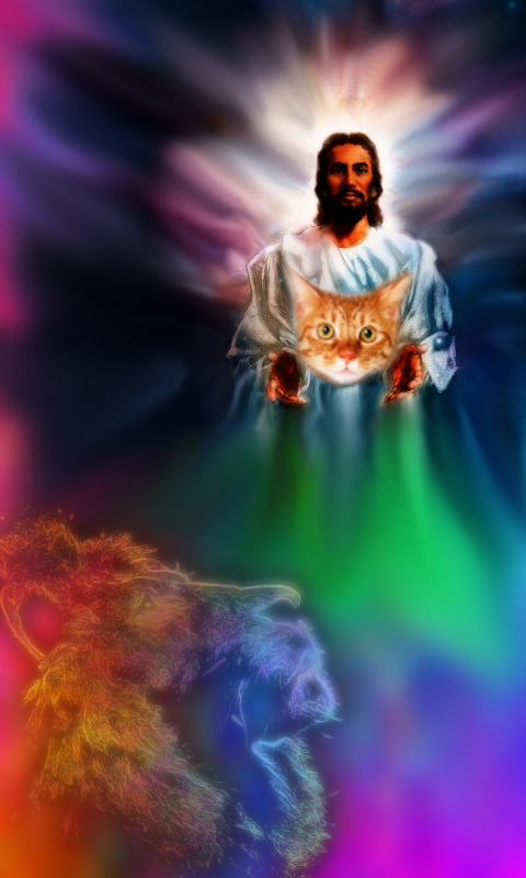 Black Jesus Quick Run Wallpaper For A Friend By Joshua159258