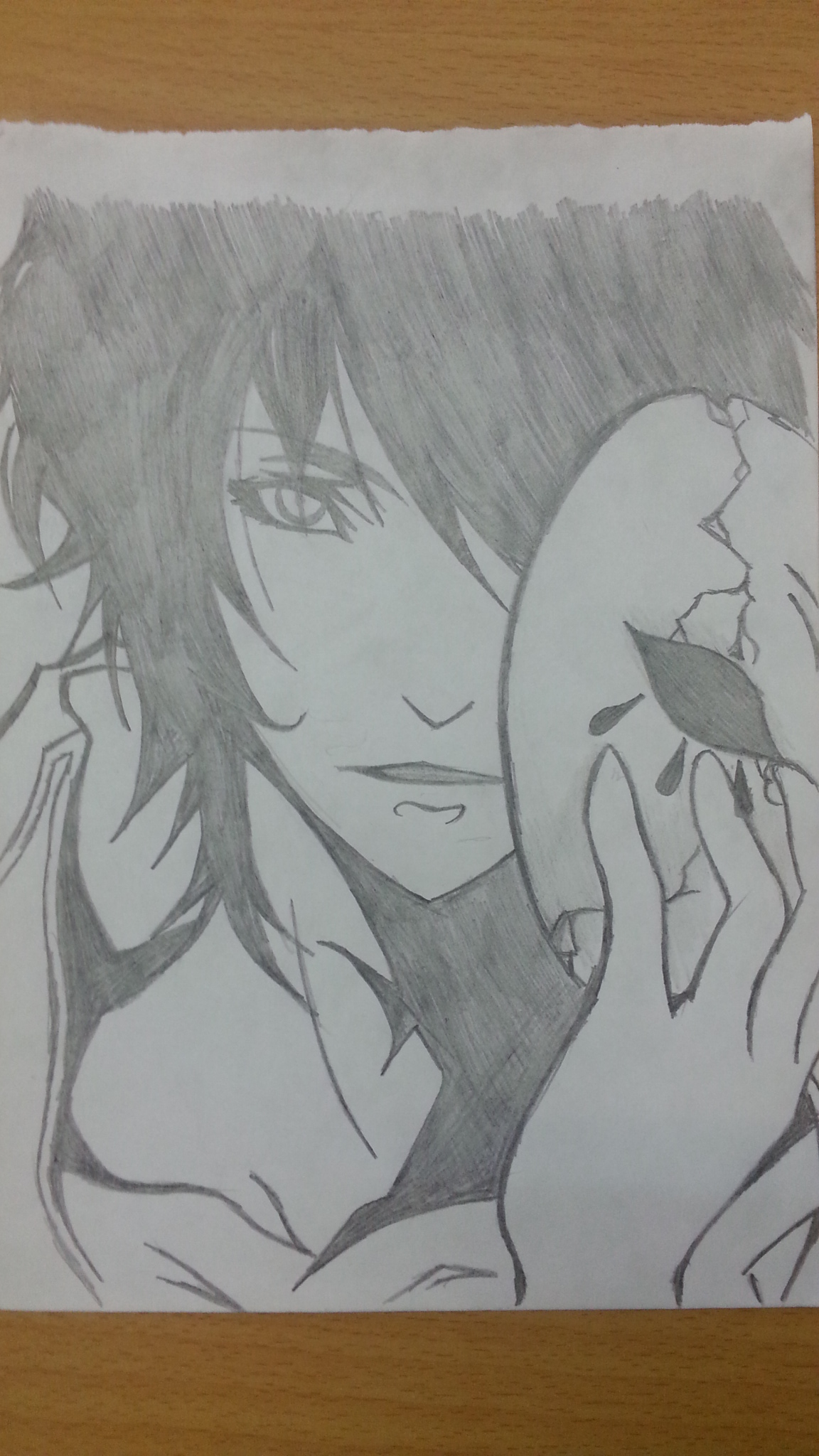 My Drawing: The guy with the mask by LeeTaemin97