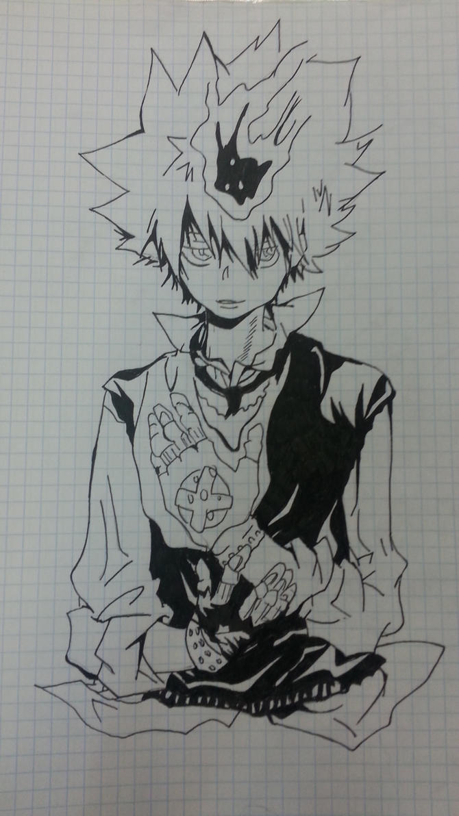 My Drawing: Tsuna Savada by LeeTaemin97