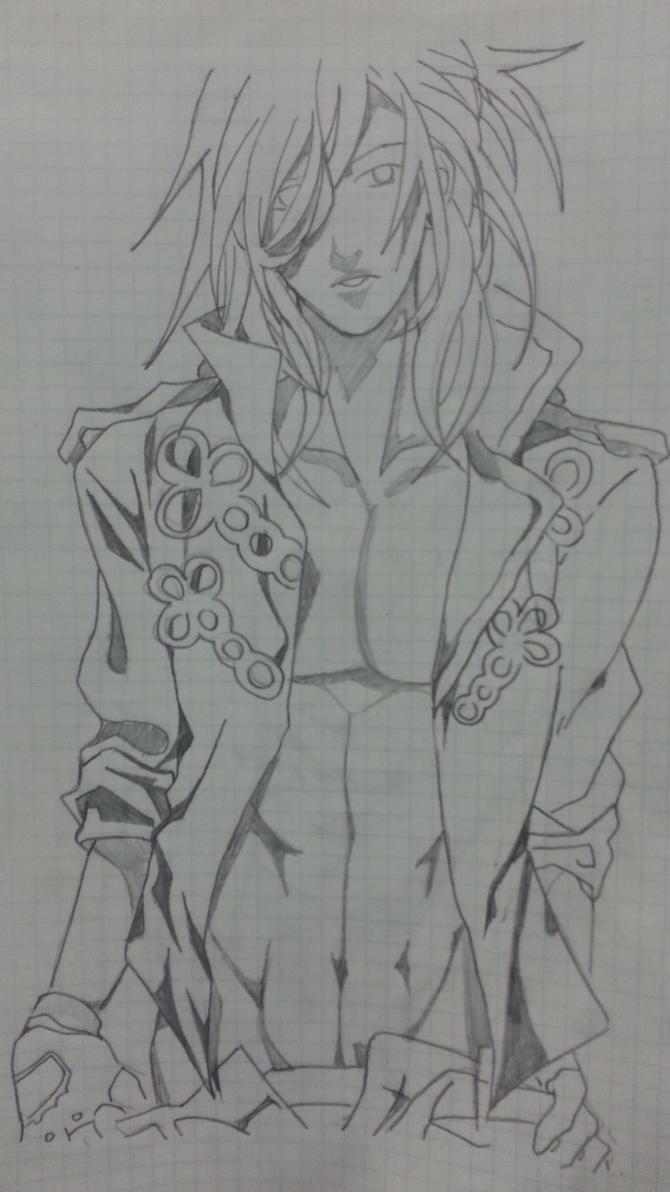 My Drawing: Sexy Ren Jinguji by LeeTaemin97