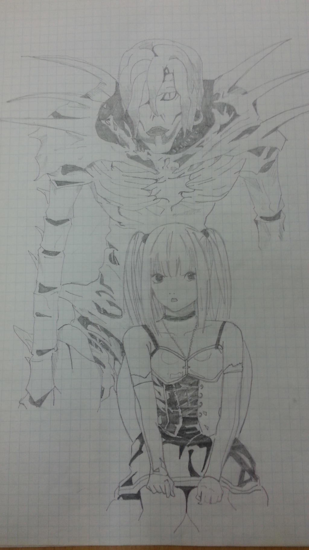 Drawing: Rem and Misa by LeeTaemin97