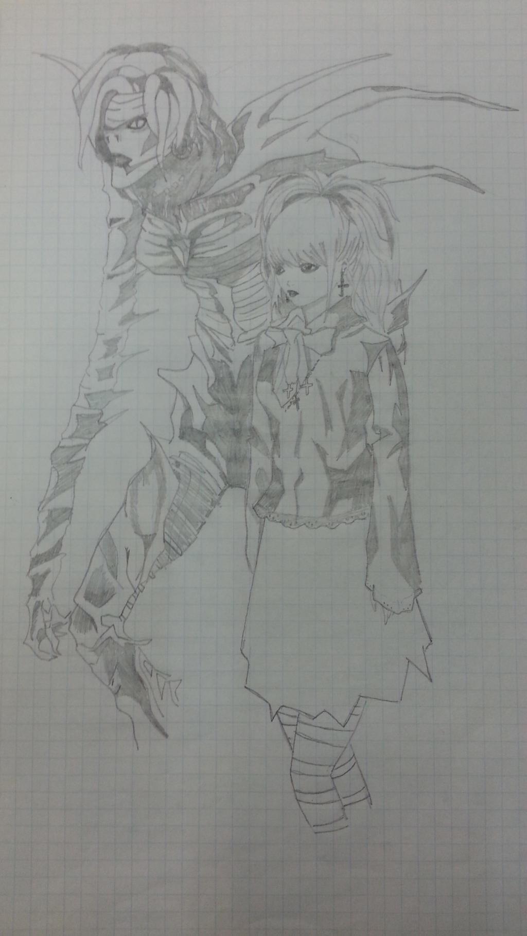 Drawing: Rem and Misa by LeeTaemin97