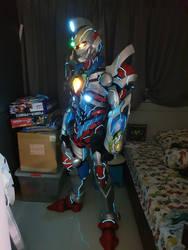 My SSSS Gridman cosplay WIP