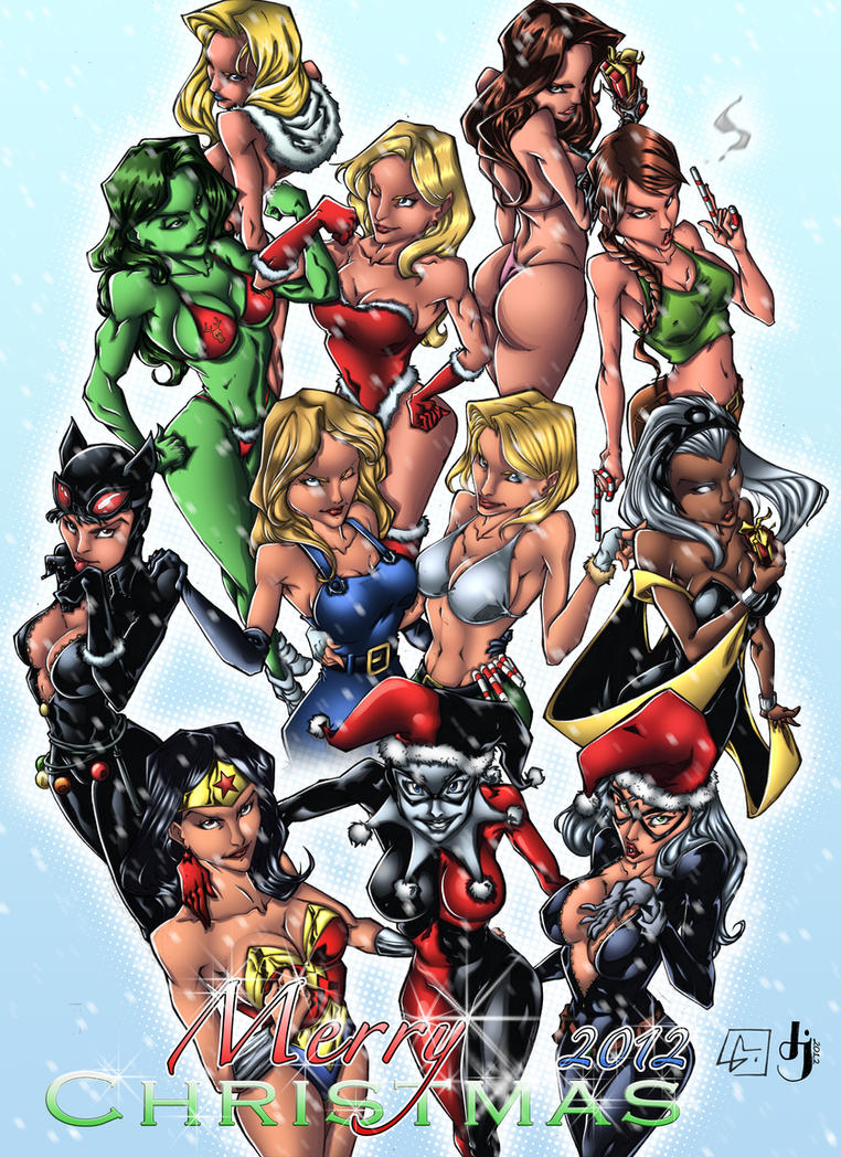 Merry Christmas 2012 by MarvelMania COLORS by MadcapLLC