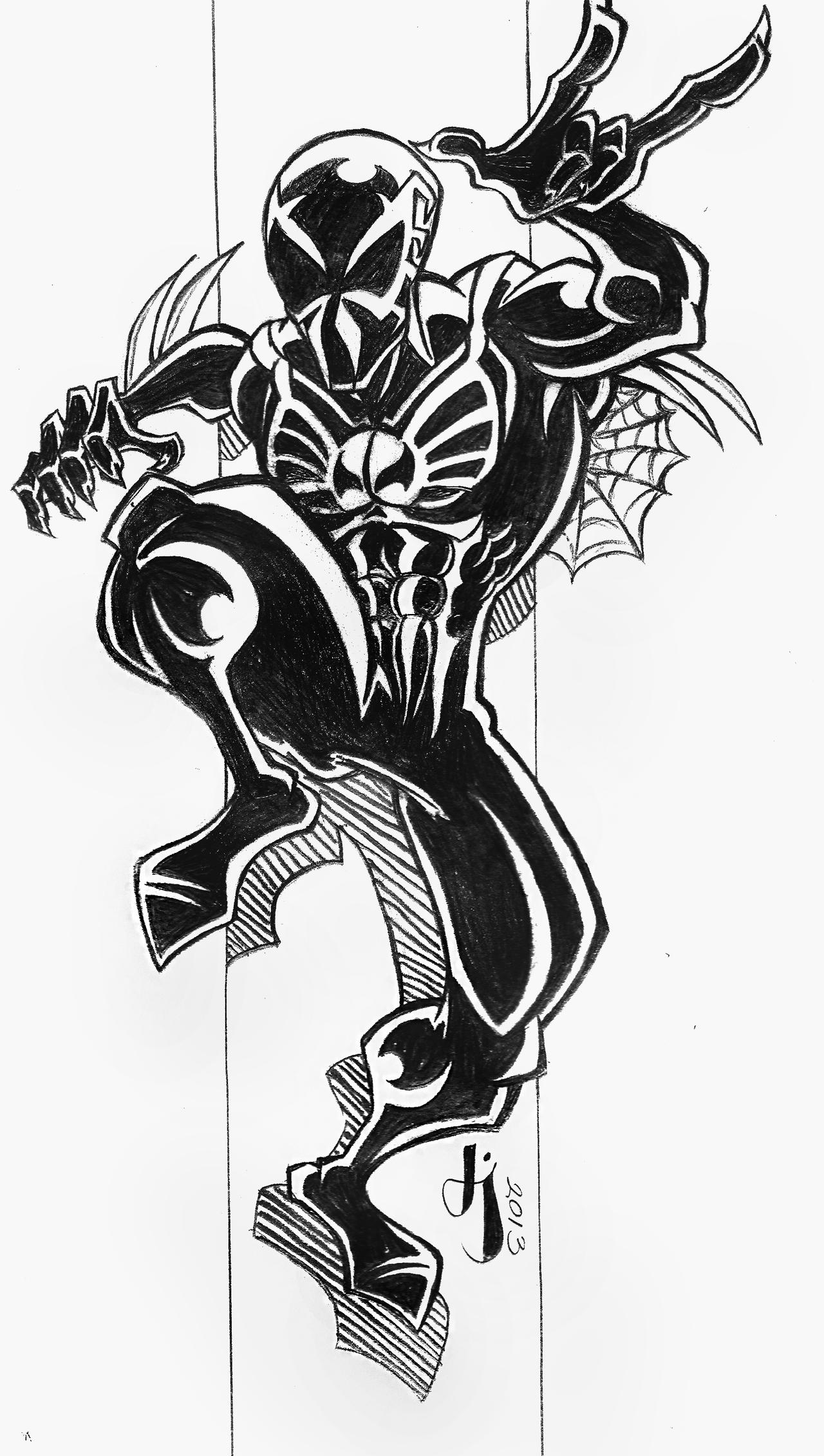 Spider Man 2 Coloring Pages Portrait Spiderman For Coloring