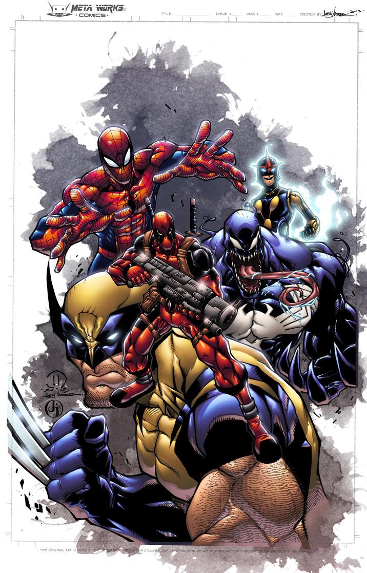 Joey's Avengers: COLORS by ProjectDJ