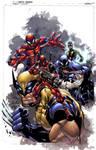 Joey's Avengers: COLORS