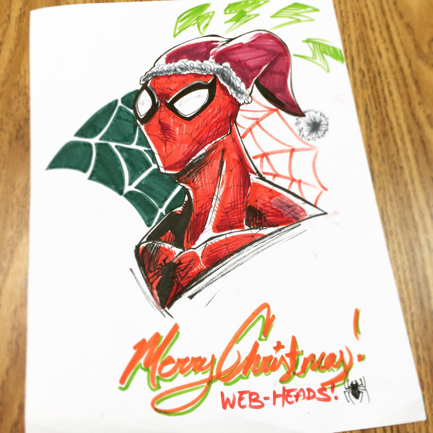 Christmas Spidey! by MadcapLLC