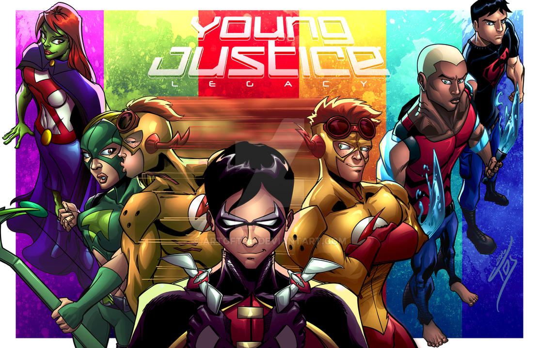 Young Justice: Legacy by ArtOfTDJ