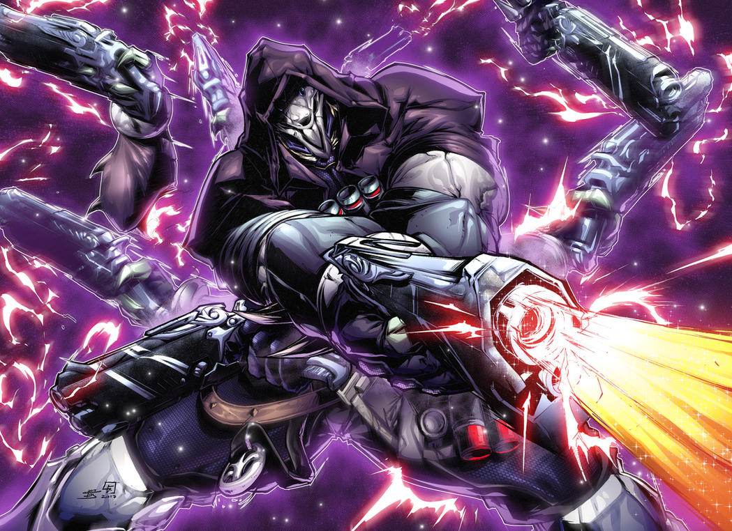 Reaper Overwatch COLORS by ArtOfTDJ