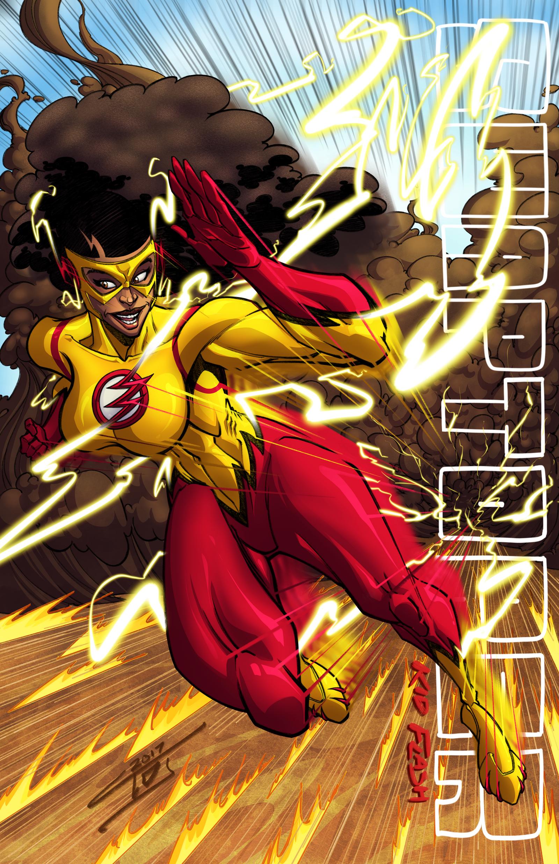 Ms. Kid Flash by ArtOfTDJ