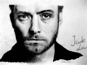 Jude Law drawing