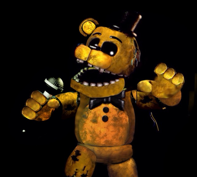 Golden freddy picture - Fnaf Golden Freddy Drawing at GetDrawings