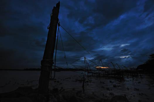 Sunrise in Kochi