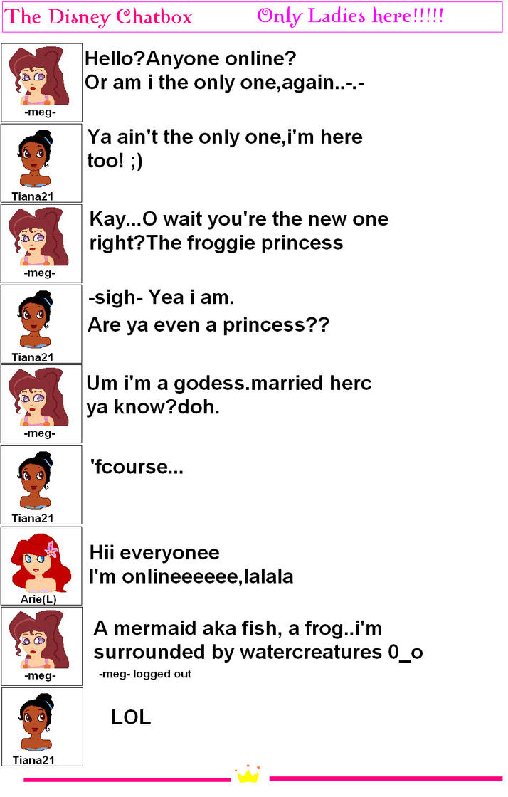 disney princess chat by lindsay1111