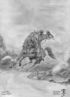 LotR: Nazgul - One of the Nine by Zarem